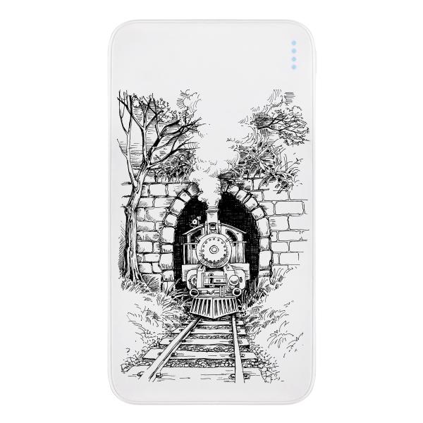 Принт «Поезд в тоннеле»